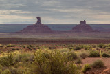 Rooster and Setting Hen Buttes