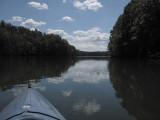 Kayaking at the Martinsville Reservoir Sept. 2016