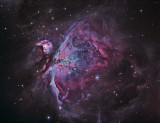 M42 First Light with New Scope