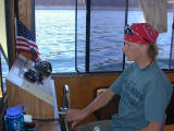 Nate lends a handat the helm