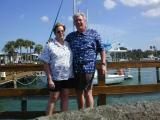 Sue and Frankat Dunedin Marina