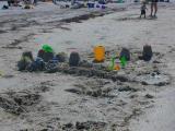 A sand castlecity