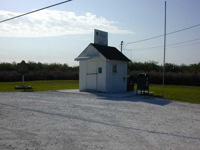 Worlds smallest PO<BR>Ochopee, FL (Everglades)
