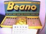 Bingo (Originally Beano) Was Discovered At Jacksonville, Ga. in 1929