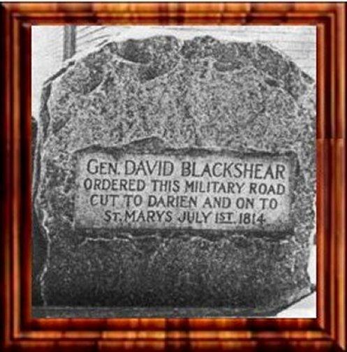 Gen. David Blackshear Marker