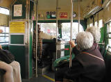 On the streetcar