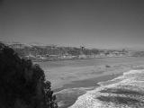 Ocean beach infrared photo