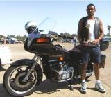 Me and my Gold Wing in Bakersfield