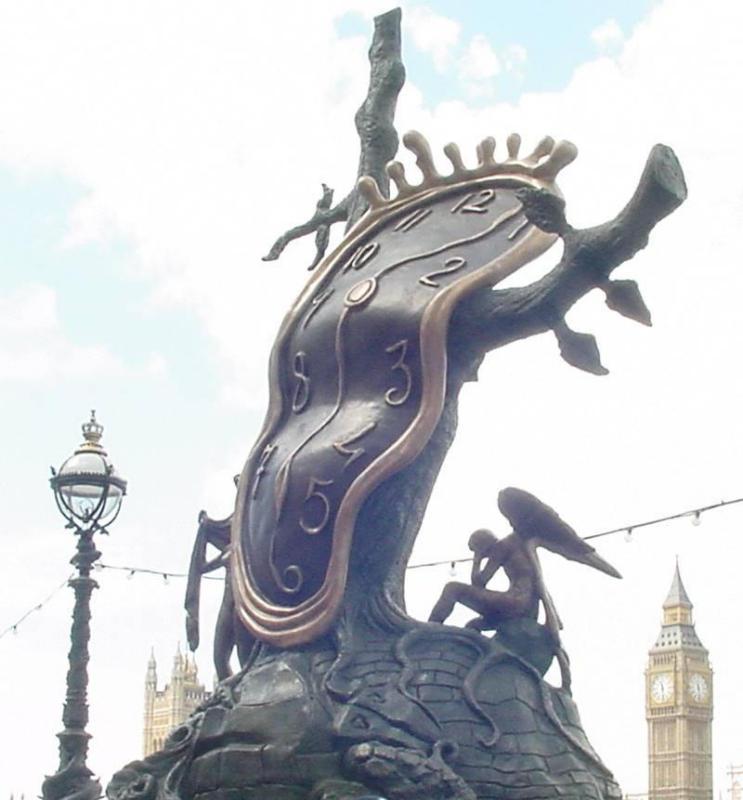 Salvador Dali in London