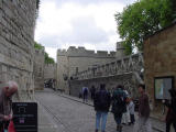 After paying many pounds, I am off to check out the tower.