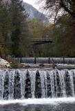 Jajce - River Pliva waterfall