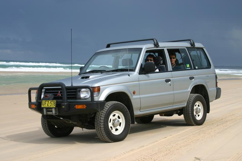 Pajero and friends
