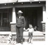 Richard E. and me 1952