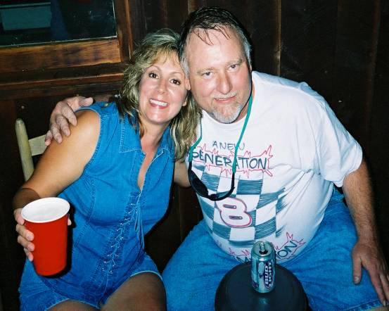 Judy and Les