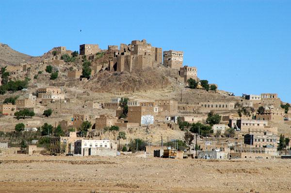 Yemeni hilltop village