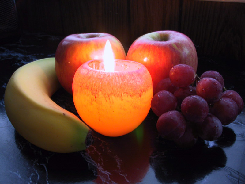 Candlelit Fruit Salad
