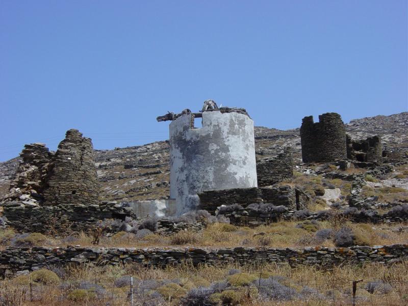 Ano Ysternia Windmills