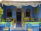 Colourful cafe