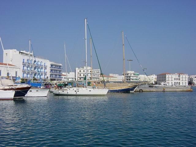 Its not a marina... its the main port!