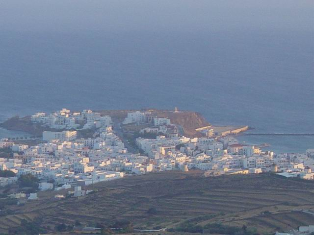 Tinos Town from Dyo Choria