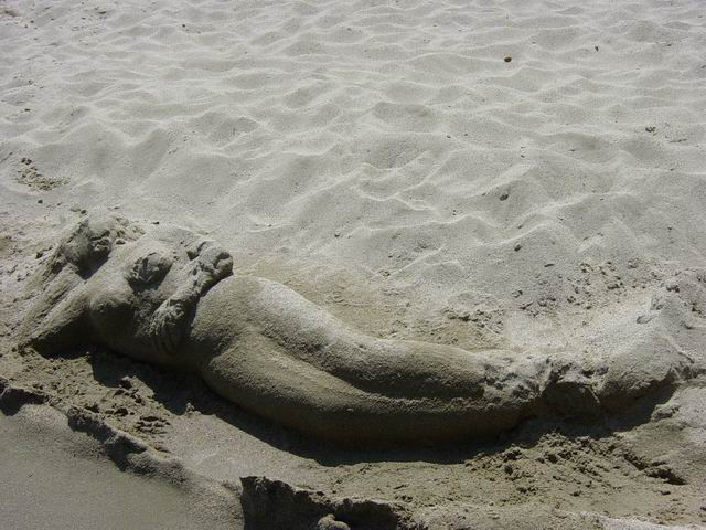 Castles in the sand, a womans feelings...