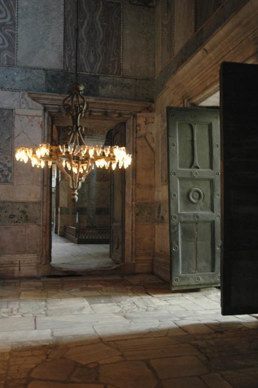 Istanbul Aya Sofya door