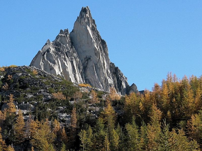 Prusik Peak Sideways View