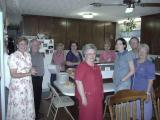 Friends In Kitchen At Williams House 5-26-2002