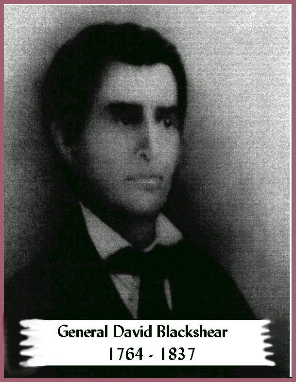 The General Who Built Fort Clark (Blockhouse Church Site) Near Jacksonville, Ga.