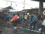 pre-tour bicycle traffic
