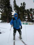 Alejandro on skis