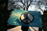 Peace Sign Flag in sunset.jpg