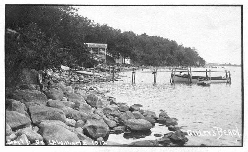 Gilleys Beach August 1912