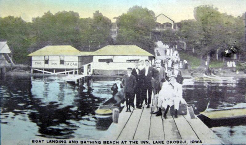 Boat Landing and Bathing Beach