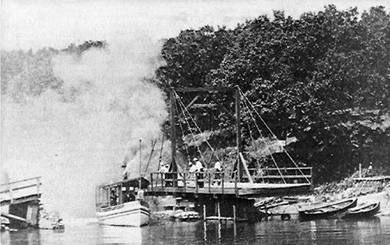 Swing Bridge Okoboji Arnolds Park