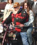A ride with Grandad