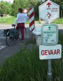Turnhout / Kempen (Belgium)Het Bels Lijntje - Gevaar/Danger