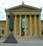 Art Museum - East Entrance Broken Obelisk at the Art Museum57a