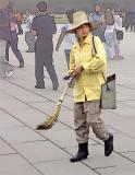 Sweeper, Tiananmen Square