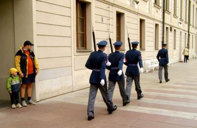 Changing the Guard, Prague, Czech Republic, 2003