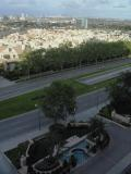 The view from our room at the Park Hyatt, LA.