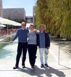 Rob, Lisa and the rather splendid David :-)
