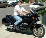 Rick and his ST1100- May 2002