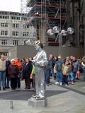 Outside Cathedral, Koln