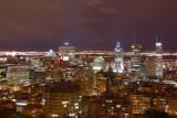 Montreal view from Mount-Royal