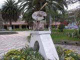 Plaza at San Antonio de Ibarra