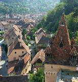 Sighisoara - from the Clock Tower