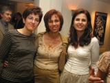 L toR: Catherine Solomidou-Georgiou, Rea Hadjioannou-Kourtelli, Annie Pattichi