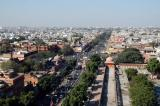 View of Chhoti Chaupar from the Heavenly Piercing Minaret