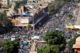 Busy Chhoti Chaupar square, Jaipur